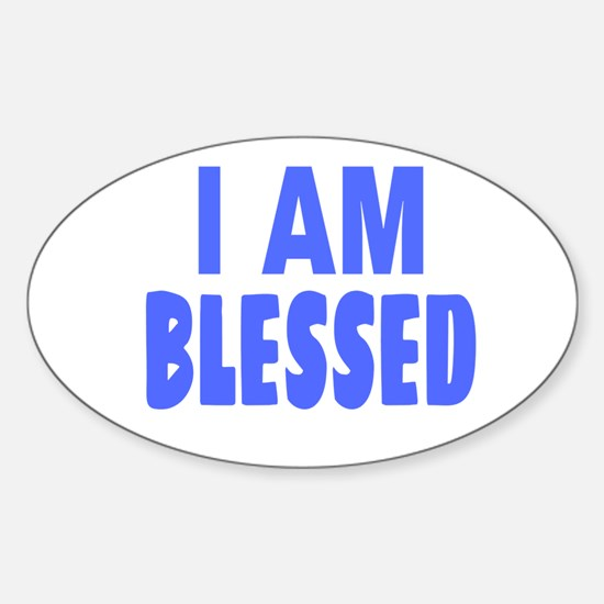 I Am Blessed Decal