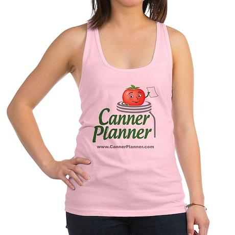 cannerplanner_8in Racerback Tank Top