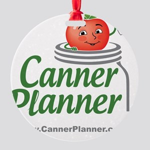 cannerplanner_8in Round Ornament