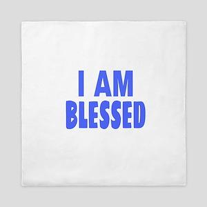 I Am Blessed Queen Duvet