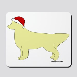 LightGoldenSanta Mousepad