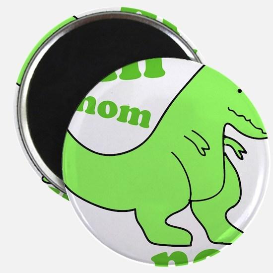 dinosaur-green-om-nom Magnet