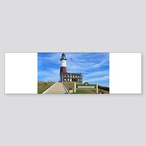 Montauk Lighthouse Bumper Sticker
