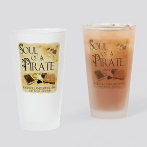 NB soul of a pirate West Indies Drinking Glass