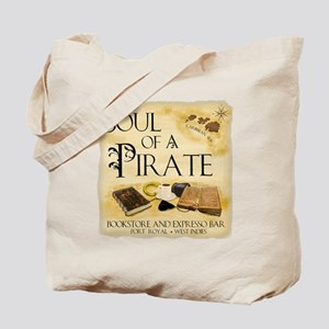 NB soul of a pirate West Indies Tote Bag
