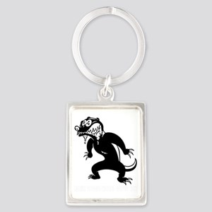 honey-badger4-java-DKT Portrait Keychain