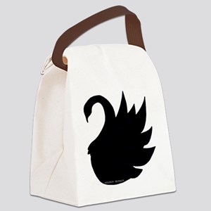 black swan Canvas Lunch Bag