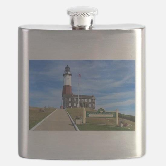 Montauk Lighthouse Flask