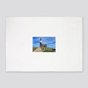 Montauk Lighthouse 5'x7'Area Rug