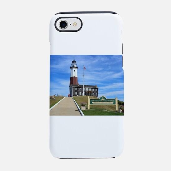 Montauk Lighthouse iPhone 7 Tough Case
