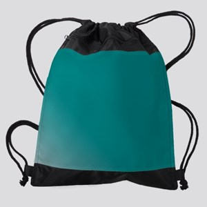 Teal Drawstring Bag