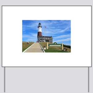 Montauk Lighthouse Yard Sign