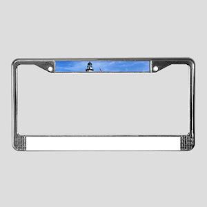Montauk Lighthouse License Plate Frame