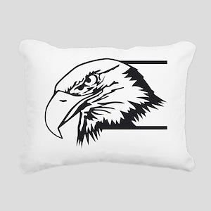 F-15 Eagle Logo 4 Rectangular Canvas Pillow