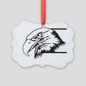 F-15 Eagle Logo 4 Picture Ornament