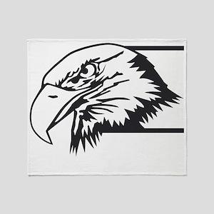 F-15 Eagle Logo 4 Throw Blanket