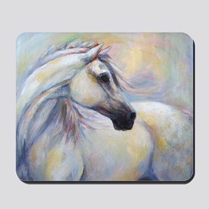 Heavenly Horse art by Janet Ferraro. Cop Mousepad