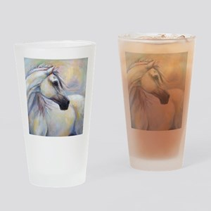 Heavenly Horse art by Janet Ferraro Drinking Glass
