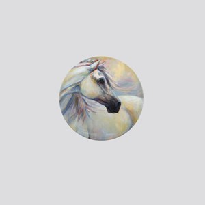 Heavenly Horse art by Janet Ferraro. C Mini Button