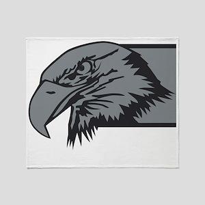 F-15 Eagle Logo 3 Throw Blanket