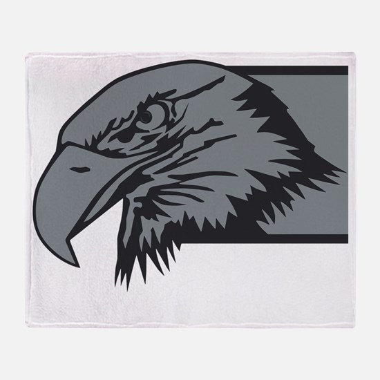 F-15 Eagle Logo 3 Throw Blanket