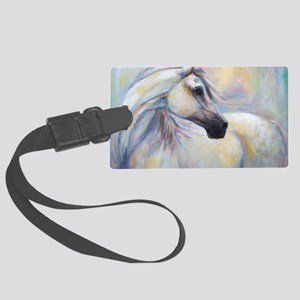 Heavenly Horse art by Janet Ferr Large Luggage Tag