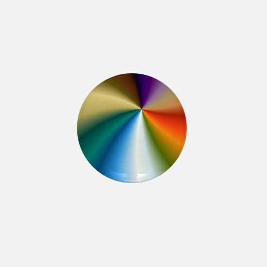 Rainbow Coin Purse Mini Button