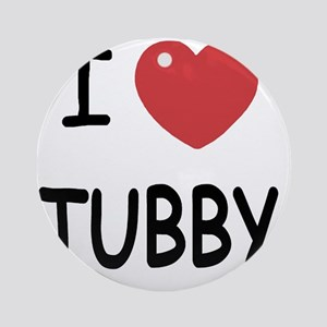 TUBBY Round Ornament