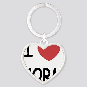 NORM Heart Keychain