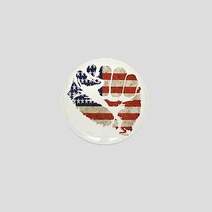 flagfist1 Mini Button