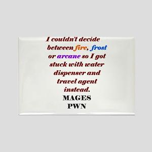 Mage Decide Rectangle Magnet