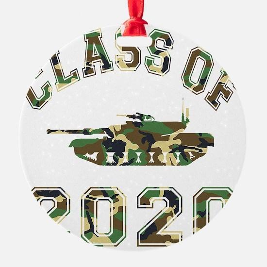 CO2020 Tank Camo Ornament