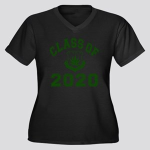 CO2020 SOHK  Women's Plus Size Dark V-Neck T-Shirt