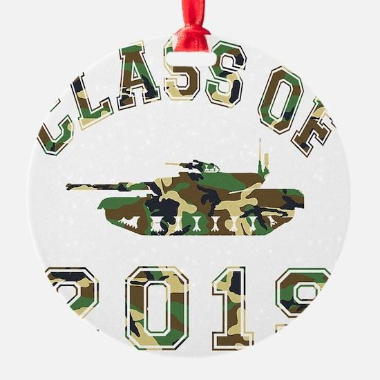 CO2019 Tank Camo Ornament