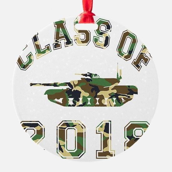 CO2018 Tank Camo Ornament