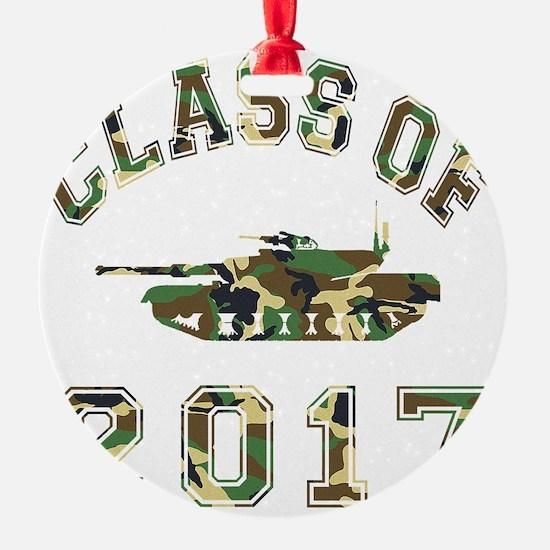 CO2017 Tank Camo Ornament