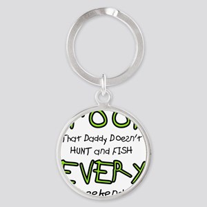 Proof Round Keychain
