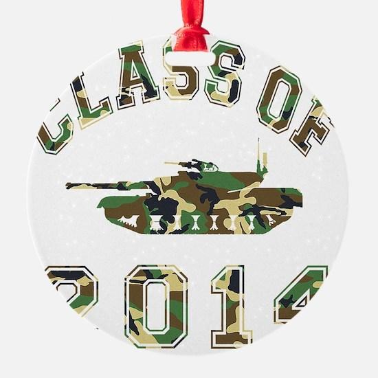 CO2014 Tank Camo Ornament