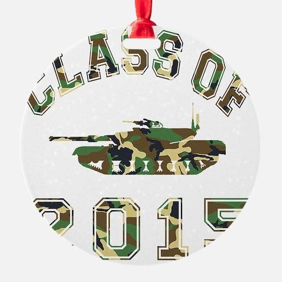 CO2015 Tank Camo Ornament