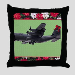 hhchristmas copy copy copy Throw Pillow