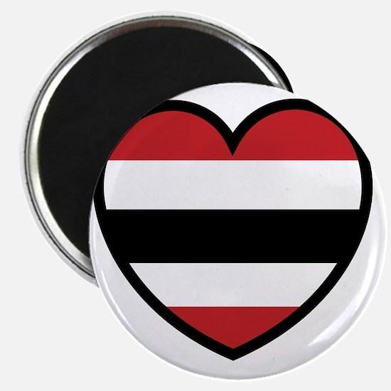 Hawk Heart Solo Magnet