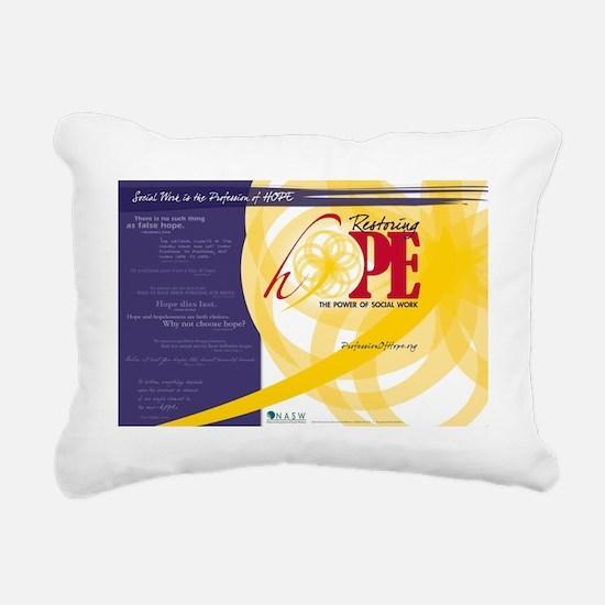 HopePosterNoLocation Rectangular Canvas Pillow