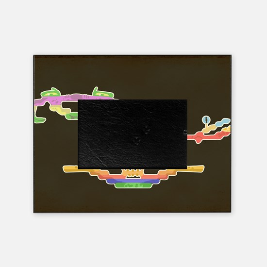 demon attack hartter Picture Frame