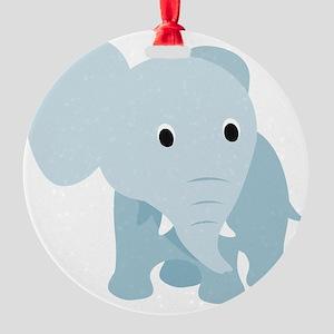 animal3 Round Ornament