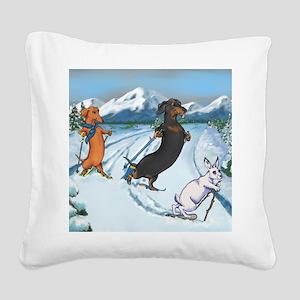 xcountrysq Square Canvas Pillow
