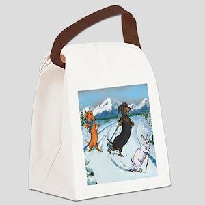 xcountrysq Canvas Lunch Bag