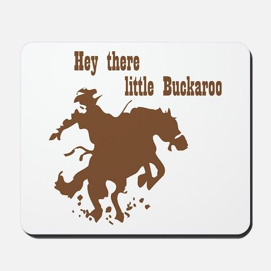 Retro Buckaroo Cowboy Western Mousepad