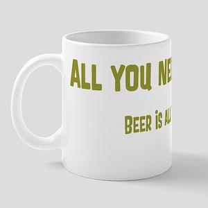 All You Need Beer_Tee Mug