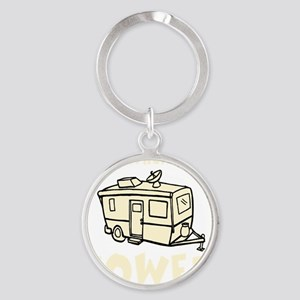 towedtrailercolor Round Keychain