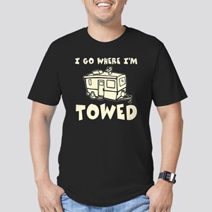towedtrailercolor Men's Fitted T-Shirt (dark)